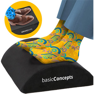 BasicConcepts Foot Rest Under Desk