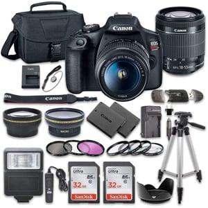 Canon EOS Rebel T7 DSLR Camera Bundle