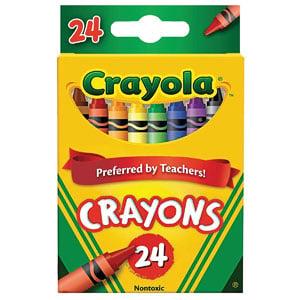 Crayola Crayons 24-Ct, 2-Pk