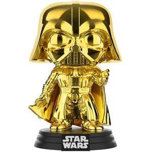 Funko POP Star Wars Darth Vader (Gold Chrome)