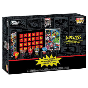 Funko Pocket POP! Advent Calendar: Marvel 80th Anniversary, 24-Pcs