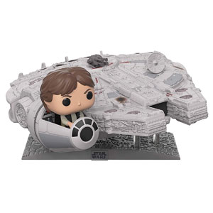 Funko Pop! Deluxe: Star Wars - Millennium Falcon with Han Solo