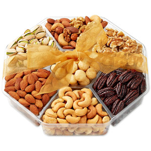 Hula Delights Holiday Nuts Gift Basket