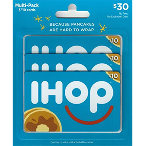 IHOP Gift Cards, Multi-Pack of 3