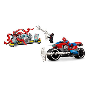 LEGO Marvel Spider-Man: Spider-Man Bike Rescue 76113