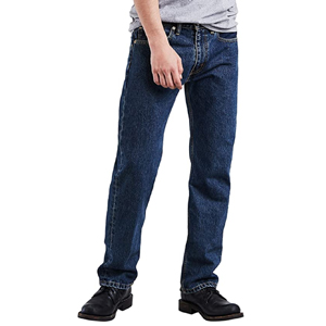 Levis Mens 505 Regular Fit Jeans