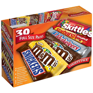 Mars Chocolate Candy Variety Mix