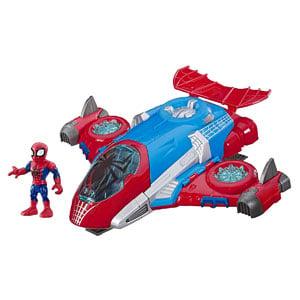 Marvel Super Hero Adventures Spider-Man Jetquarters