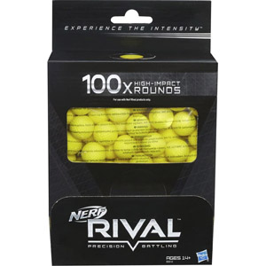 Nerf Rival 100 High-Impact Rounds Refill Pack