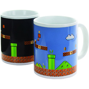 Paladone Super Mario Brothers Heat Changing Ceramic Coffee Mug