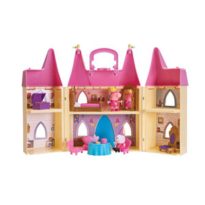 Peppa Pigs Princess Castle Deluxe Playset