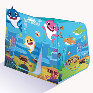 Playhut Baby Shark Hide N Play Pop-Up Tent