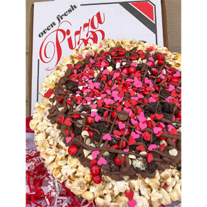 Popped Passion Popcorn Dessert Pizza