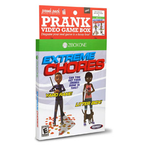 Prank Pack Prank Video Game Box