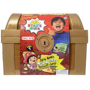 Ryans World Capn Ryans Mega Mystery Treasure Chest