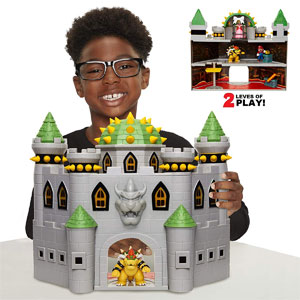 Super Mario Bowsers Castle Playset