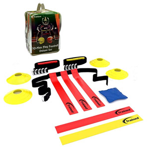 Trained 10 Man Flag Football Deluxe Set