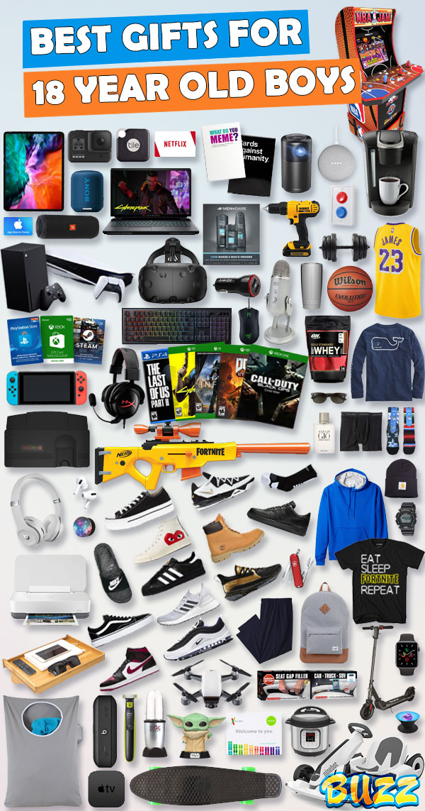 2020 Christmas List Guys Gifts For 18 Year Old Boys [Gift Ideas for 2020]