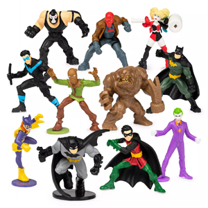 "2"" DC Batman Mini Figure Collectibles"