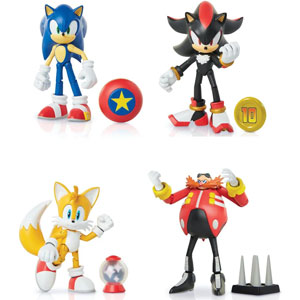 "Sonic The Hedgehog 4"" Articulated Action Figures"
