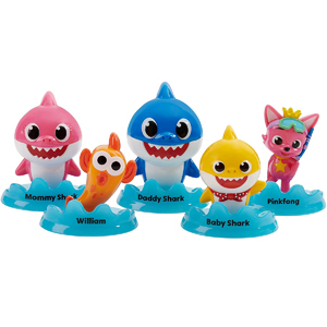 Baby Shark Official 5-Figure Pack