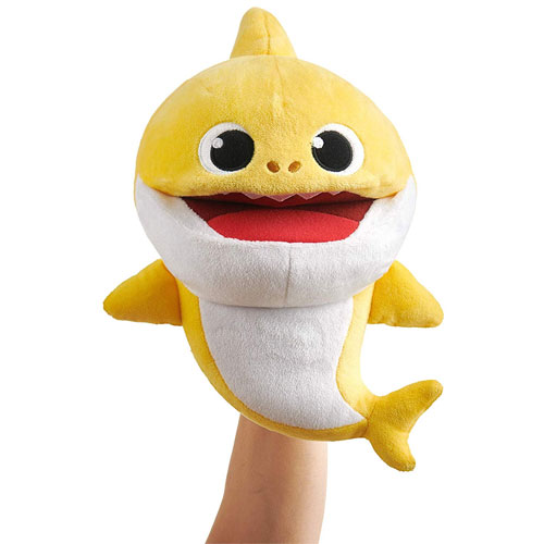 Baby Shark Song Puppet with Tempo Control