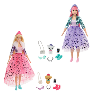 Barbie Princess Adventure Deluxe Doll Assortment
