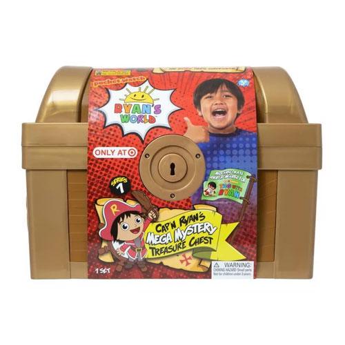 Cap'n Ryan's Mega Mystery Treasure Chest