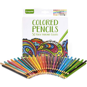 Crayola Colored Pencils, 50-Ct