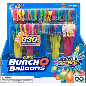 Crazy ZURU Bunch-O-Balloons Water Balloons