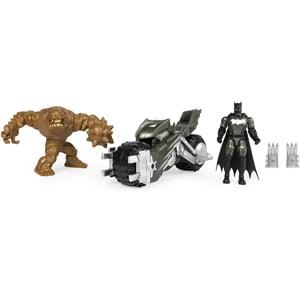 DC Batcycle Batman vs. Clayface