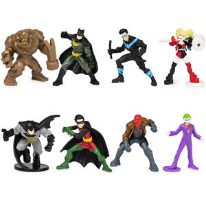 DC Batman 8 Mini Figures