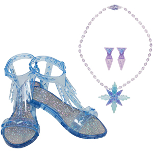 Disney Frozen 2 Elsa The Snow Queen Accessory Set