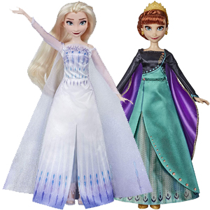 Disney Frozen 2 - Musical Adventure Dolls Anna/Elsa