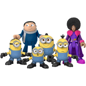 Fisher-Price Imaginext Minions 6-Pack Figure Pack
