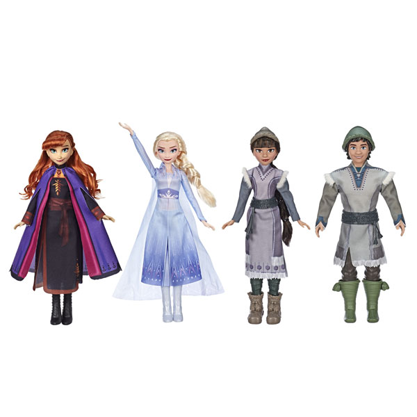 Frozen 2 Forest Expedition Dolls