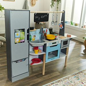 KidKraft 2-in-1 Alexa Kitchen and Market