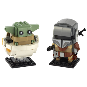 LEGO BrickHeadz The Mandalorian & The Child 75317