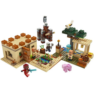 LEGO Minecraft The Villager Raid 21160