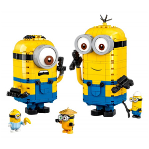 LEGO Minions: The Rise of Gru Brick-Built Minions and their Lair 75551