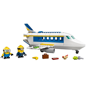 LEGO Minions: The Rise of Gru Minion Pilot in Training 75547