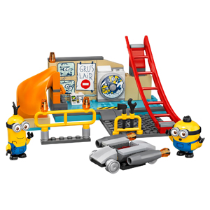LEGO Minions: The Rise of Gru Minions in Gru's Lab 75546