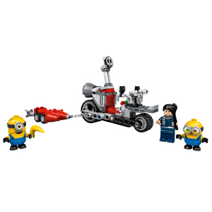 LEGO Minions: The Rise of Gru Unstoppable Bike Chase 75549