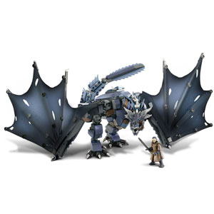 Mega Construx Game of Thrones Ice Viserion Showdown