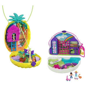 Polly Pocket Large Wearable Compact Asst