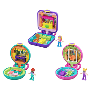Polly Pocket Tiny Core Compact Asst