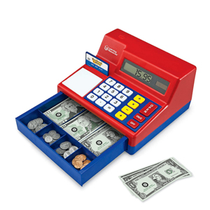 Pretend & Play Teaching Calculator Cash Register 25th Anniversary
