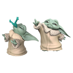"Star Wars: The Mandalorian The Bounty Collection The Child Force Moment & Frog Snack 2"" Figure 2-Pk"