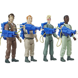 The Real Ghostbusters Figures