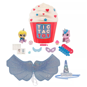 Tic Tac Toy XOXO Cupcake Surprise